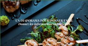 page de site restaurant 2