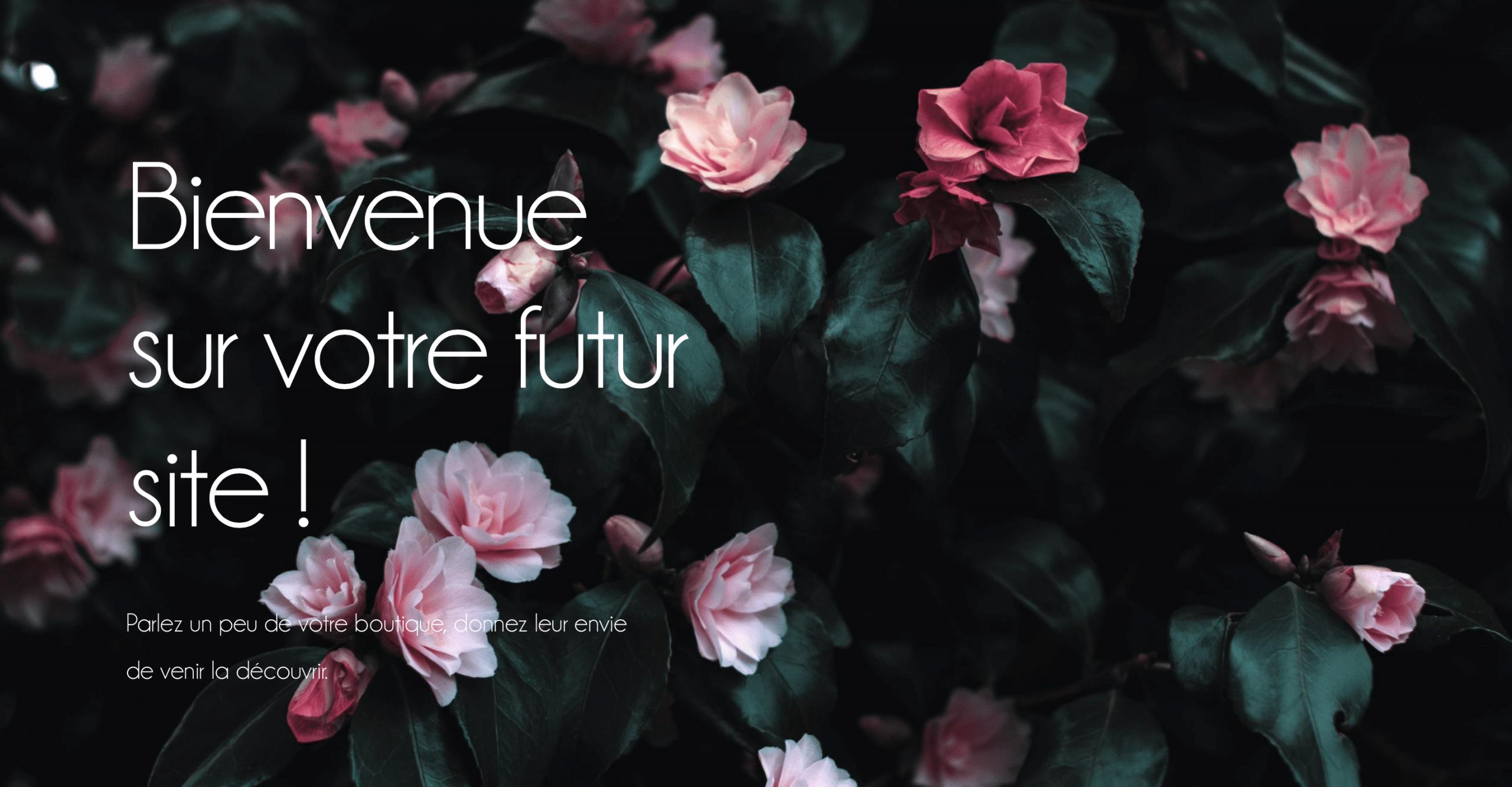 Plug and Pulse - Fleuriste - Bannière du site de fleuriste